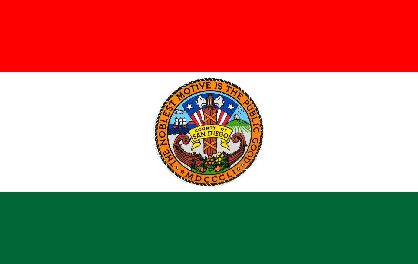 San Diego County Flag