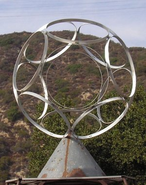 Zorthian Ranch Symbol Sculpture
