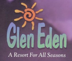 Glen Eden nudist resort logo